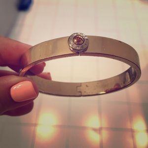 Henri Bendel gold bangle bracelet